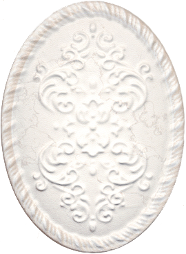 Декор Kerama Marazzi 12X16 Белгравия светлый (Oba004)