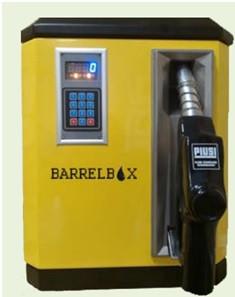 BarrelBox 220 В - Мобильная заправочная станция с функцией задачей дозы для бензина, 220 В, 45 л/мин
