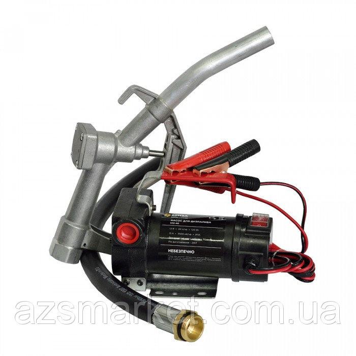 БЕНЗА К12-80 - комплект для перекачки дизельного топлива, 12 В, 80 л/мин