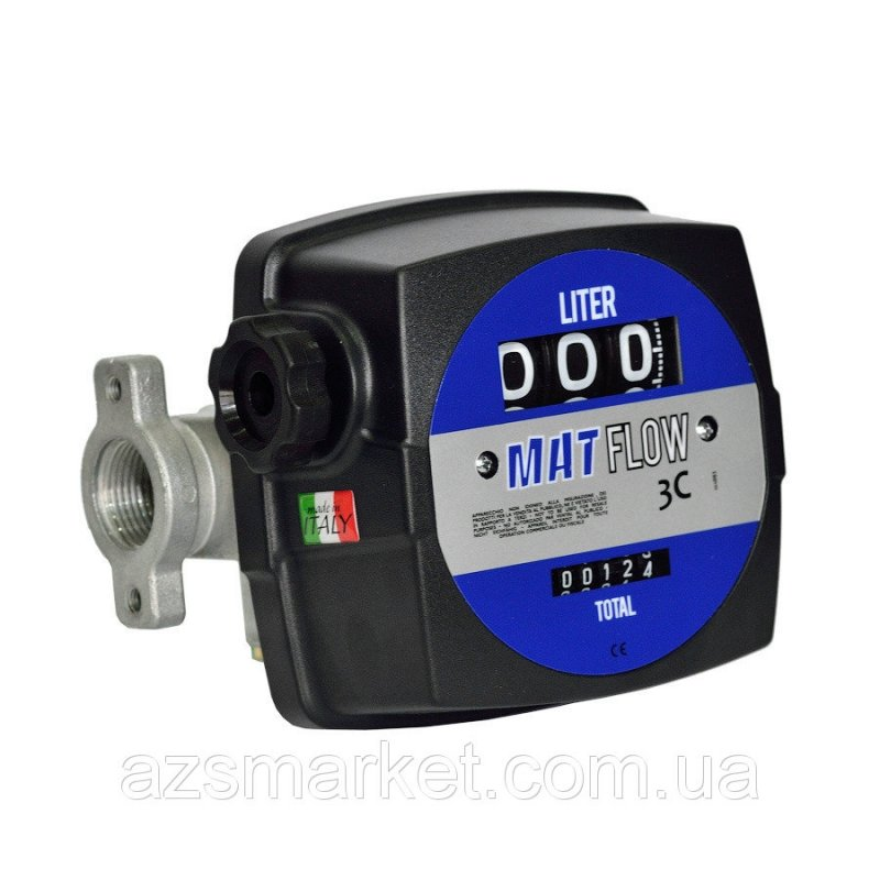 MAT FLOW 3C - счетчик расхода топлива для ДТ от 20-120 л/мин
