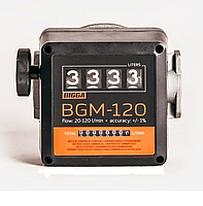 MGЕ-110 - счетчик расхода топлива для ДТ, бензина и масла от 5-110 л/мин