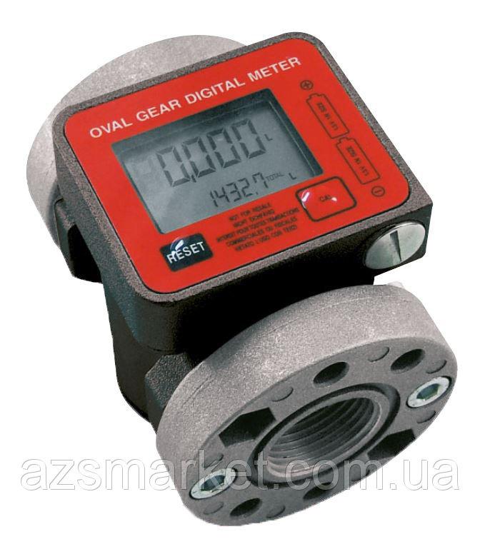 K600/3 (PIUSI) - счетчик расхода топлива для ДТ от 10-100 л/мин