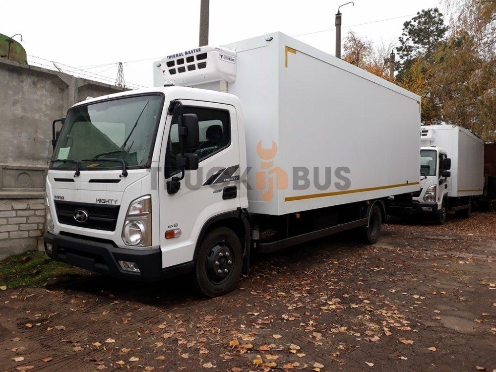 Автомобиль грузовой Hyundai EX8 фургон с рефрижератором