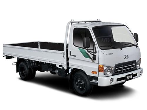 Автомобиль грузовой Hyundai HD35 бортовая платформа