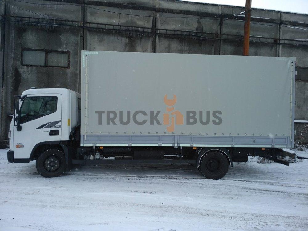 Автомобиль грузовой Hyundai EX8 борт-тент