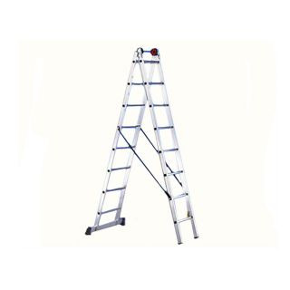 Двухсекционная лестница EURO E2 2x12 (6,00 m разл.) SVELT (SCE20030)