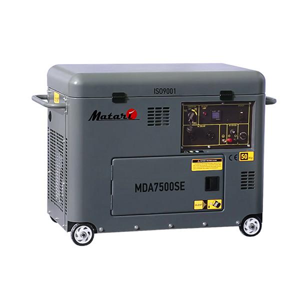 Купить Дизельные генераторы MATARI MDA 7500SE
