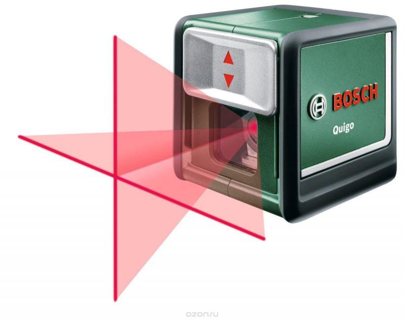 Купить Линейный лазерный нивелир Bosch Quigo III + MM2 (0603663521)