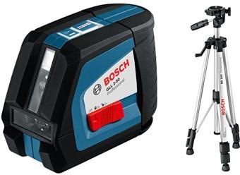 Лазерный нивелир BOSCH GLL 2-50 Professional + BT 150 + вкладка под L-Boxx (0601063105)