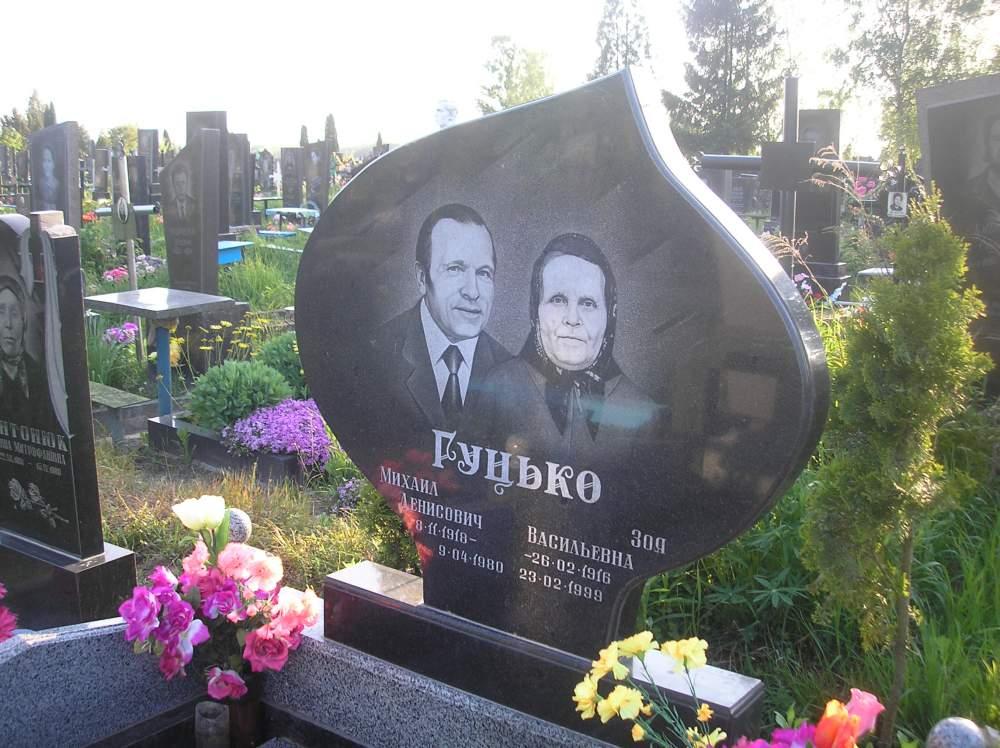 Купить памятник на кладбище Карабаш Эконом памятник Арка с резным профилем Ясный