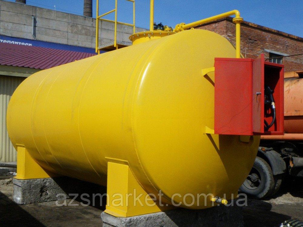 Купить Мобильный топливный модуль, цилиндрический резервуар на 15 000 литров (Мини АЗС)