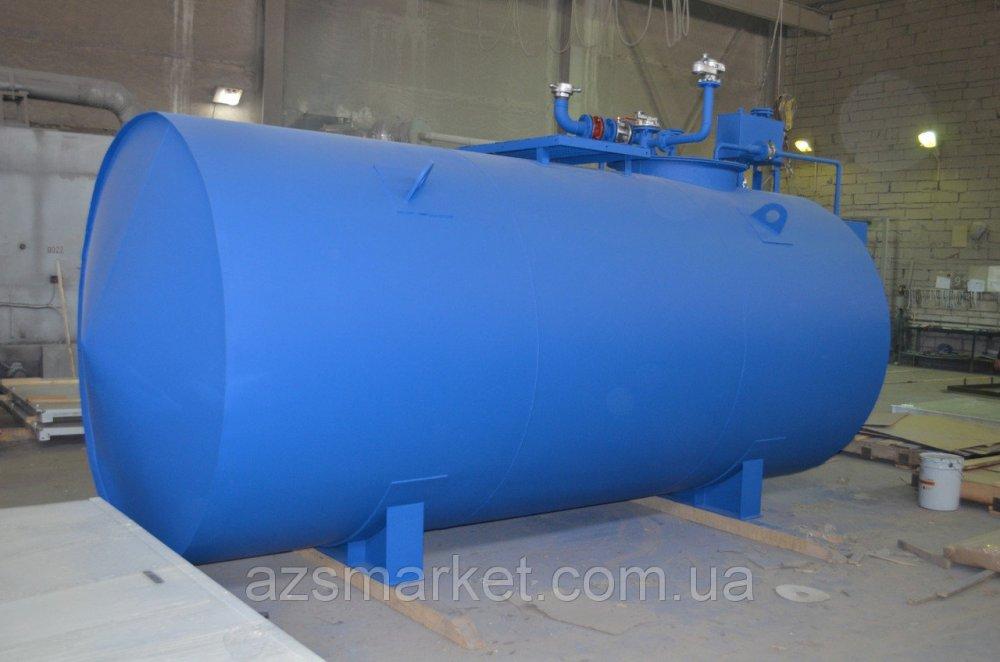 Купить Подземный топливный модуль, цилиндрический резервуар на 20 000 литров (Мини АЗС)