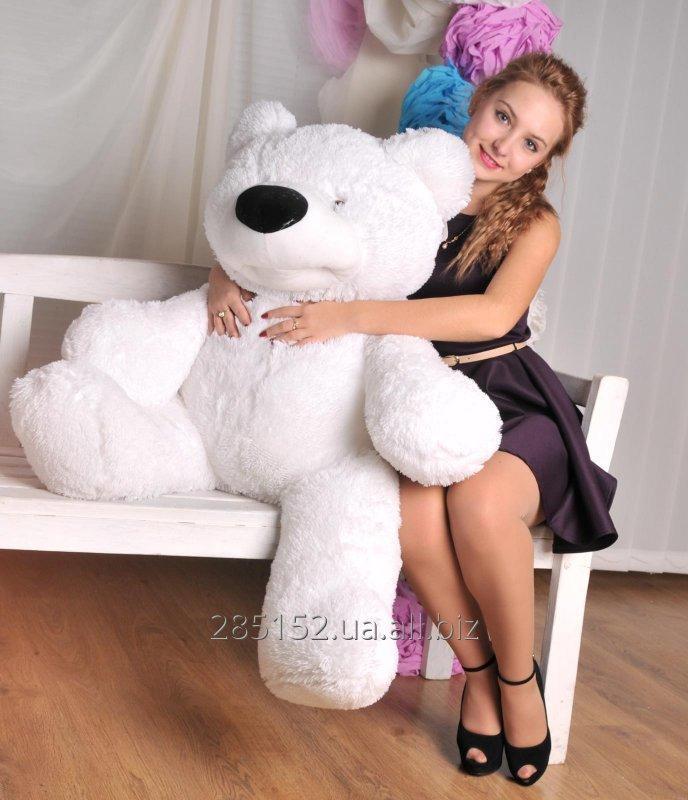 Купить Белый медведь по кличке «Бублик» ростом 70 см
