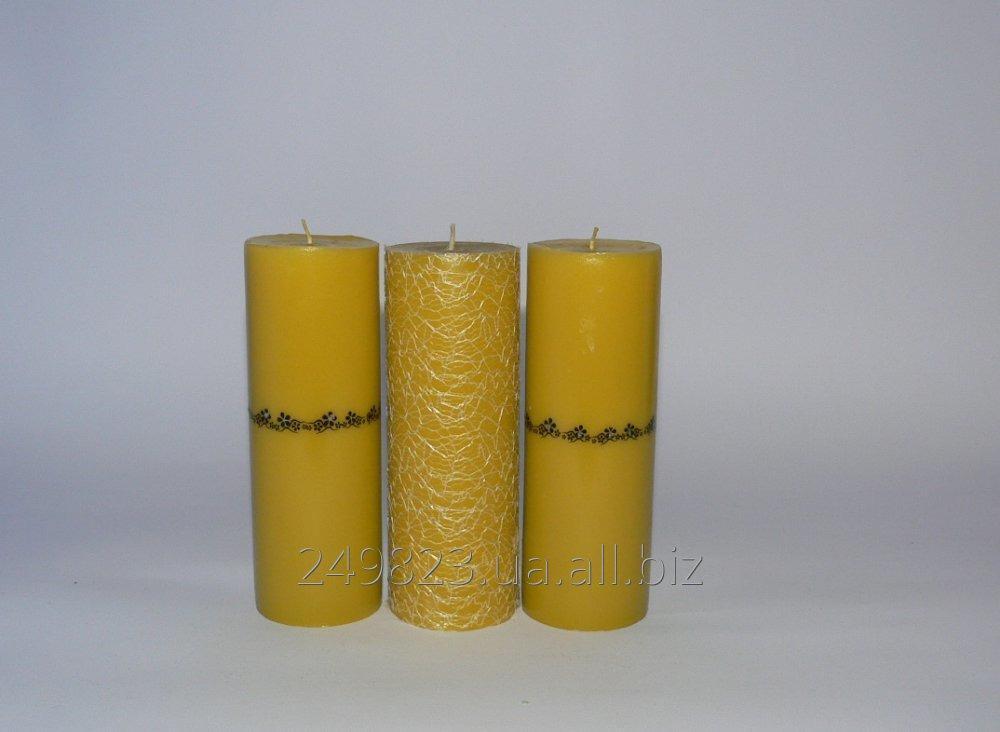 Купить Свечи парафиновые интерьерные ручной работы