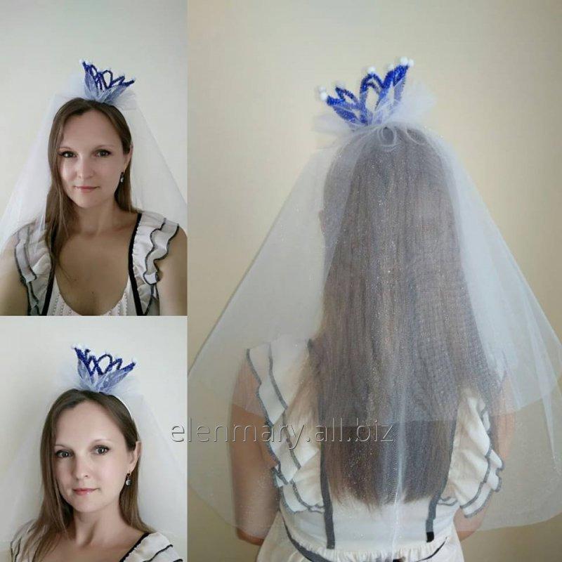 Купить Корона с фатой для девичника