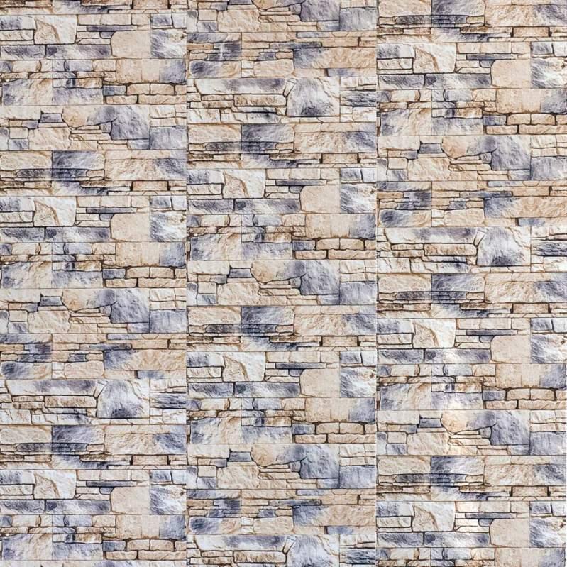 Купить ПВХ панели Старый замок с имитацией камня на поверхности