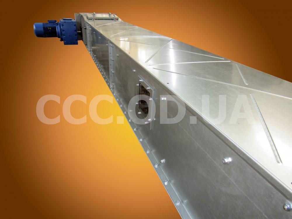 КС-150, Q=150 т\ч, Конвейер цепной скребковый, редлер
