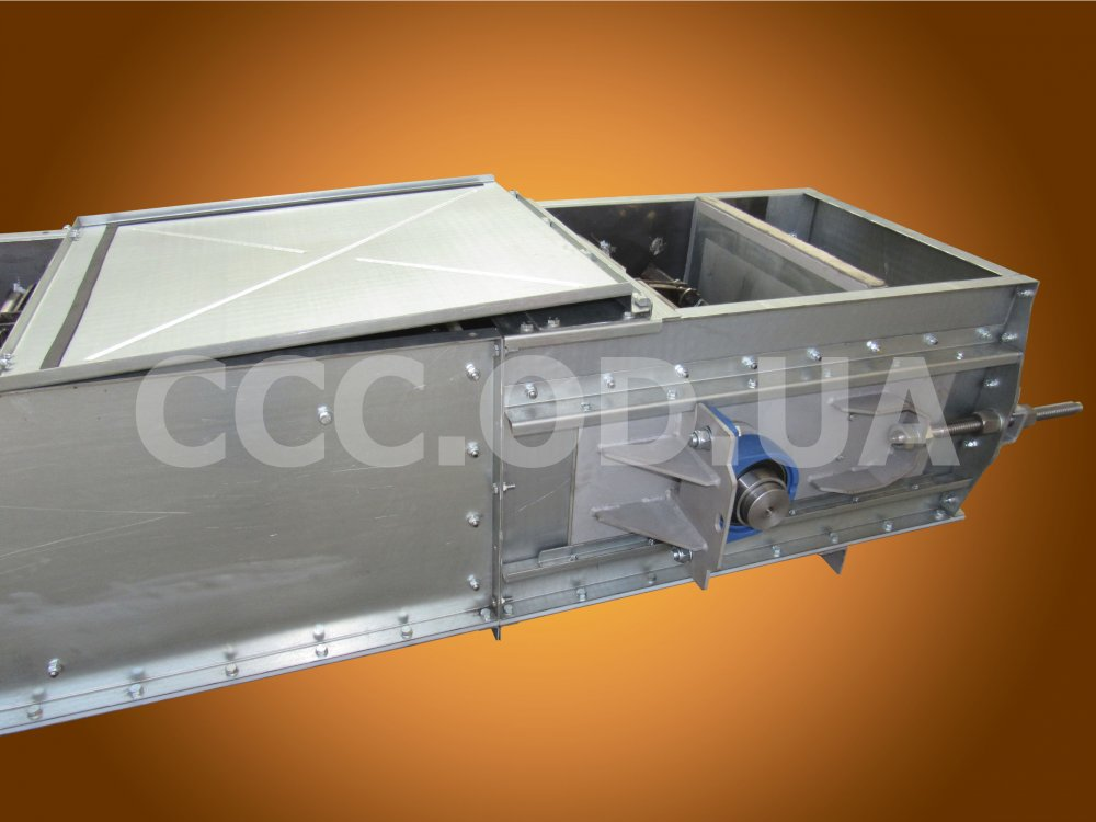КС-300, Q=300 т\ч, Конвейер цепной скребковый, редлер
