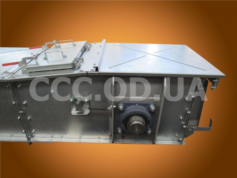 КС-400, Q=400 т\ч, Конвейер цепной скребковый, редлер