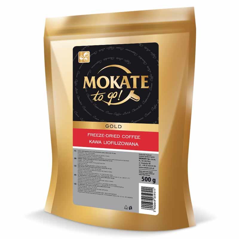 Купить Кофе растворимый сублимированный Mokate Gold, 500 г