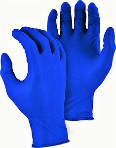 Купить Перчатки нитриловые неопудренные синие NITRYLEX