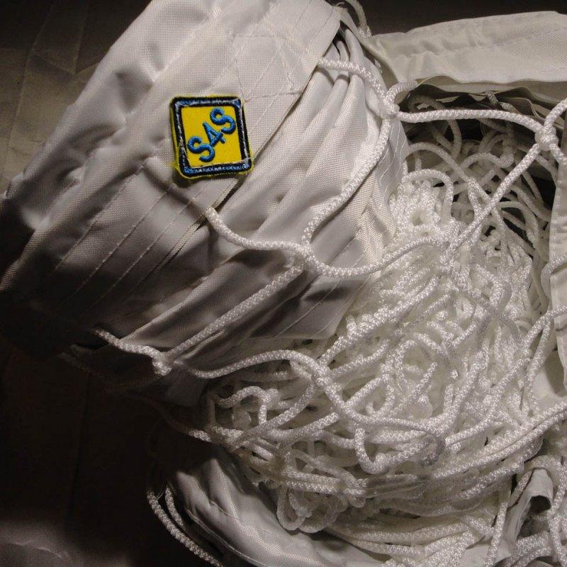 Купить Сетка для классического волейбола «ЭЛИТ 15 НОРМА» с тросом белая