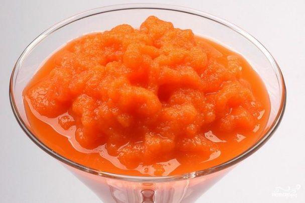 Купить Морковное пюре консервированное асептическим способом