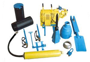 Оборудование для бестраншейной замены труб модель МПС- 01-01