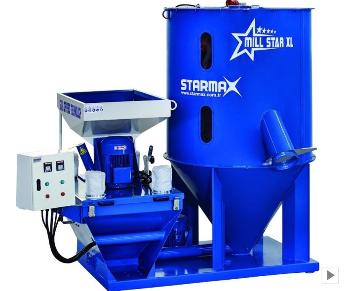 Buy Crushers and mixers for animal feed MillmixStar XL