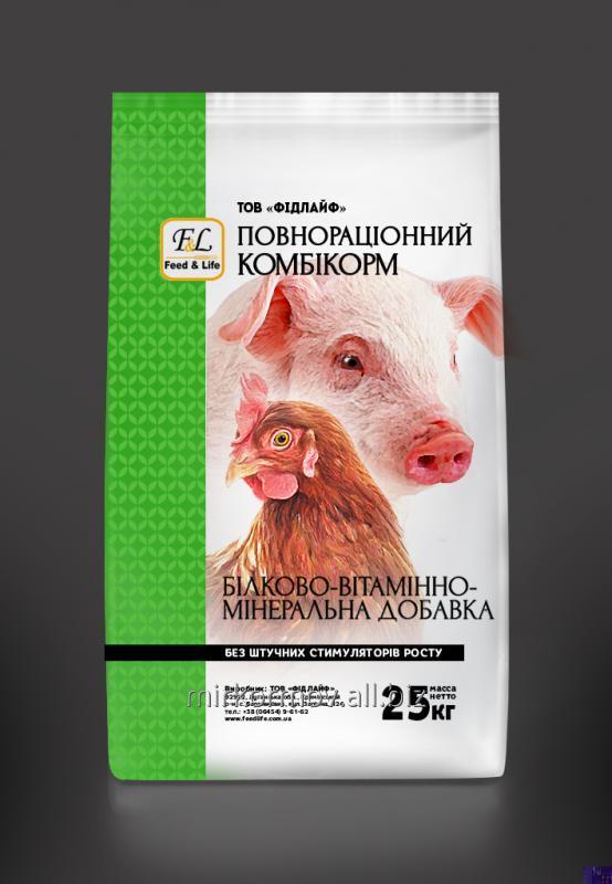 Купить Белково-витаминно-минеральная добавка ИО 30 БВМД откорм индюков
