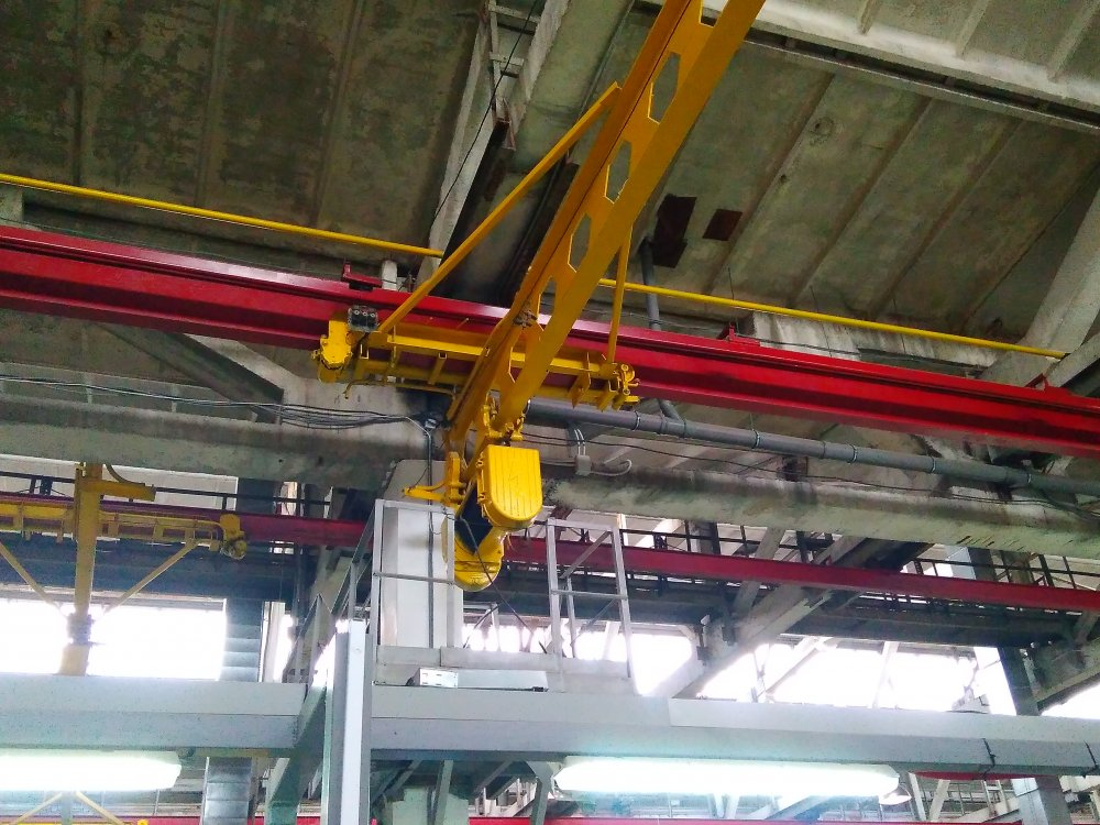 Buy Crane-suspension g / n 5t, span of 9m, with consoles
