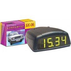 Автомобильный бортовой компьютер БК-06 (карбюр+инжек, тах. часы, вольт, термом, УЗСК)