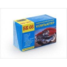 Автомобильный бортовой компьютер БК-08 (карбюр+инжект+дизель, тах, вольт, терм, часы)
