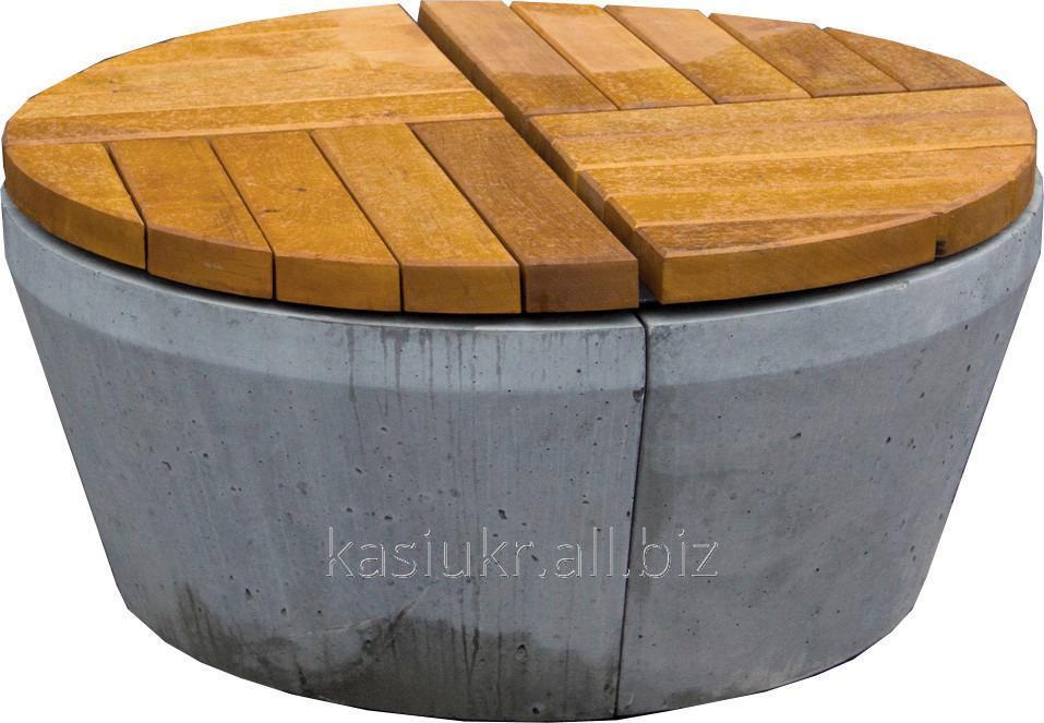Лавка садово-парковая круглая URBAN 10