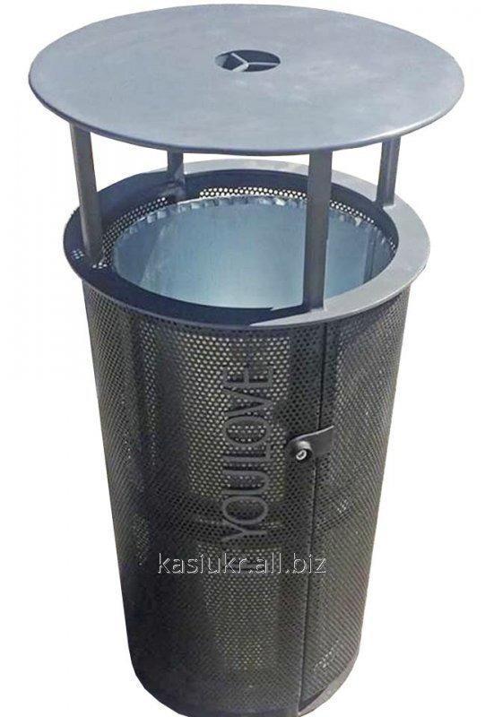 Уличная урна для мусора металическая URBAN7
