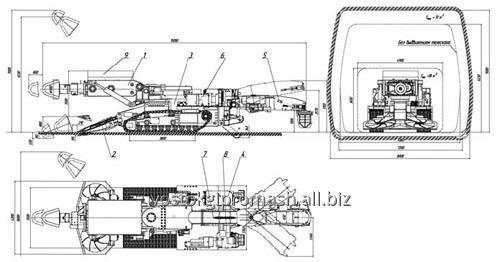 Запасные части для проходческих комбайнов КСП-32 КСП-42 1ГПКС