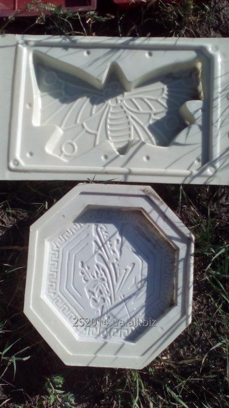 Купить Пластиковые формы для производства тротуарной плитки
