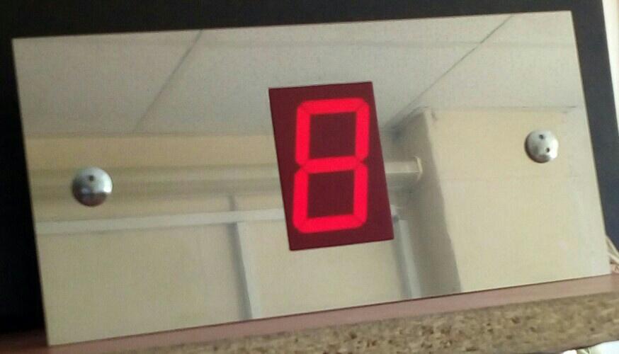 Индикатор положения лифта