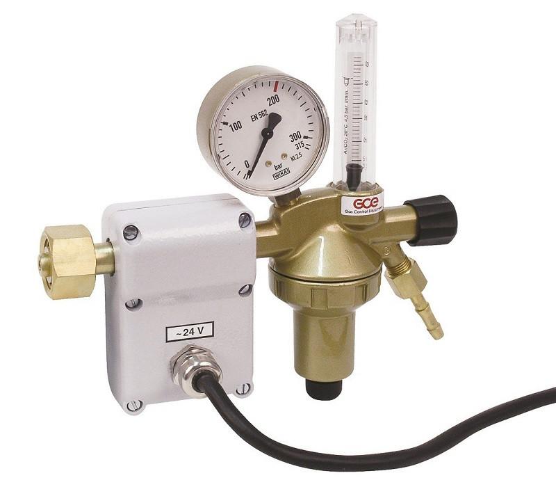 Купить Регуляторы давления DINCONTROL углекислотный с подогревом