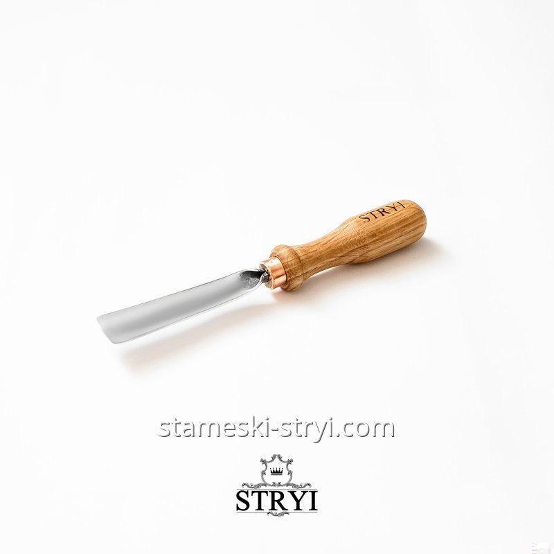 Стамески отлогие STRYI для резьбы по дереву, ширина: 20 мм. Профиль 5, арт.100520