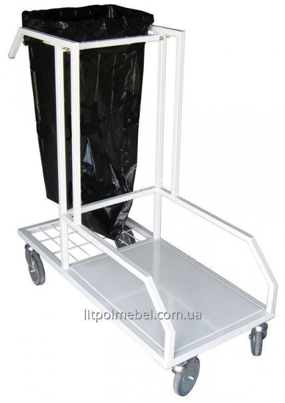 Столик-тележка для уборки СТ-ПТ
