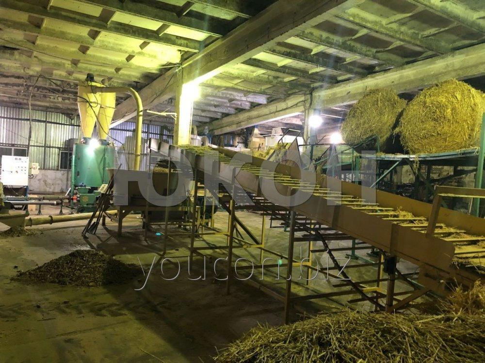 Измельчитель сена и соломы роторный для линии гранулирования\брикетирования