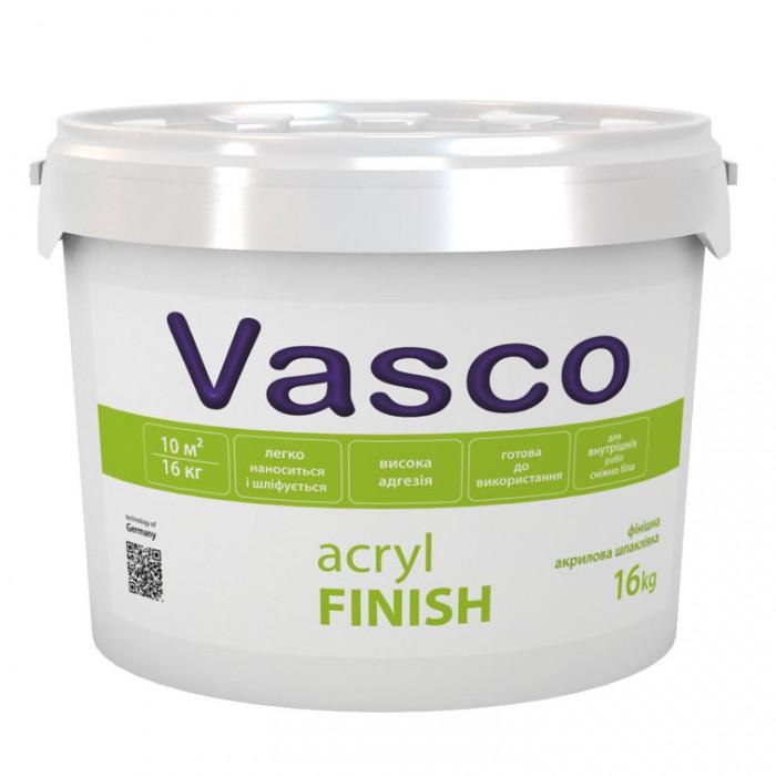 Акриловая шпатлевка Vasco Acryl FINISH, 16 кг.