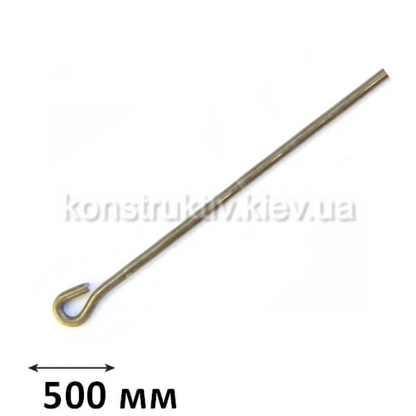 ГК Спица петля 500 мм., КП (100 шт.) ЦИНК
