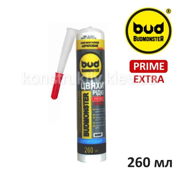 Жидкие гвозди акриловые Budmonster Prime EXTRA, 260 мл
