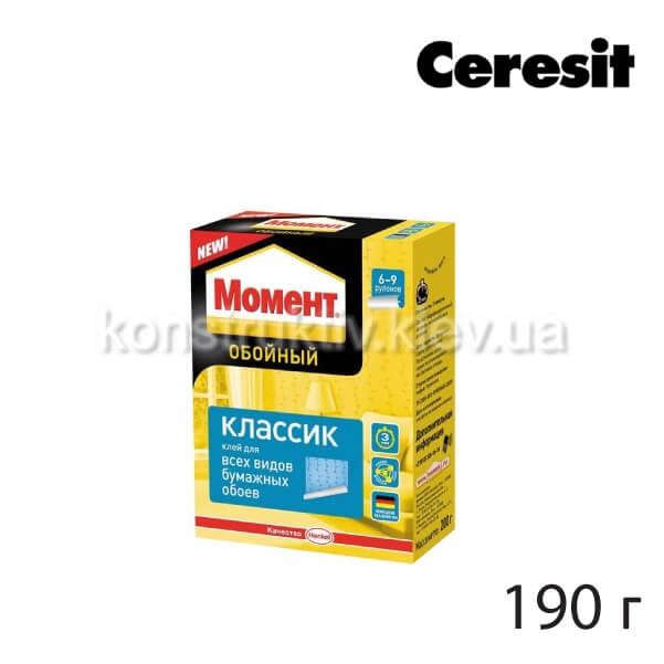 Клей для обоев Момент Классик Церезит, 190 г