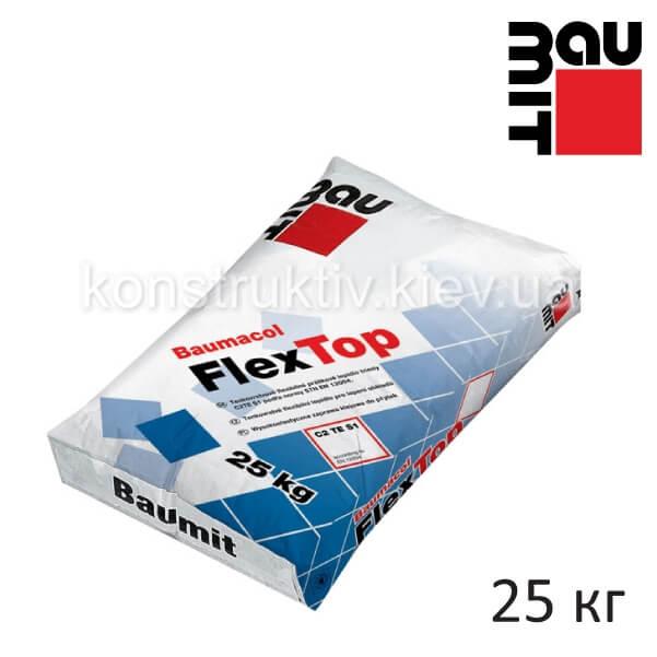 Клей эластичный Баумит (Baumit) ФлексТоп, 25 кг