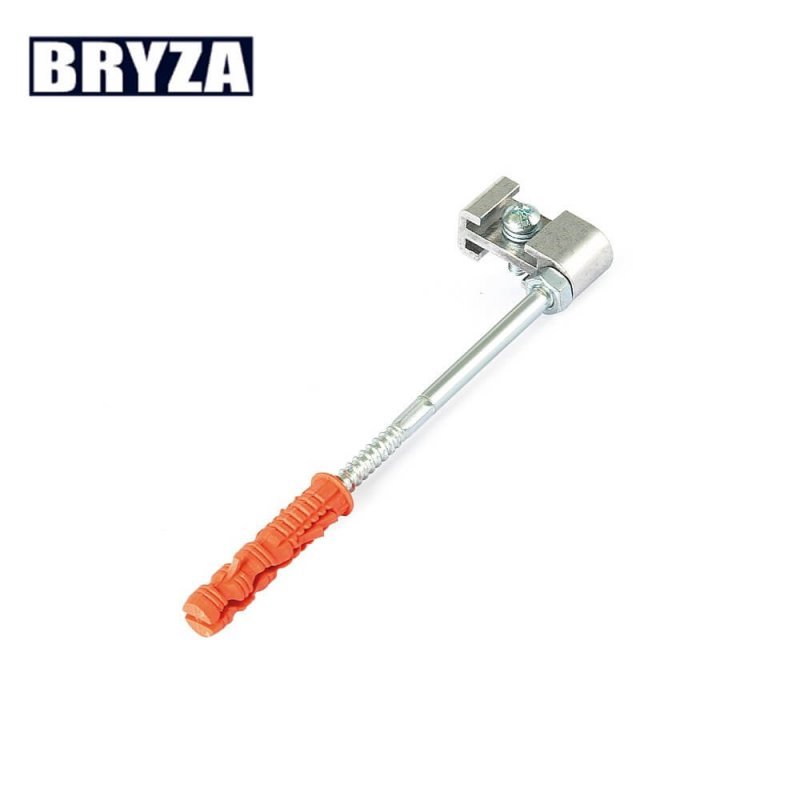 Крюк хомута металлический 120 мм, BRYZA 100