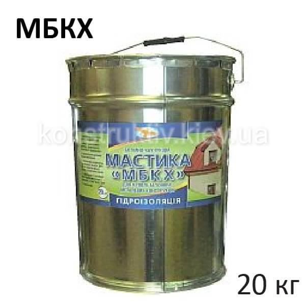 Мастика гидроизоляционная Изолит МБКХ, 20 кг