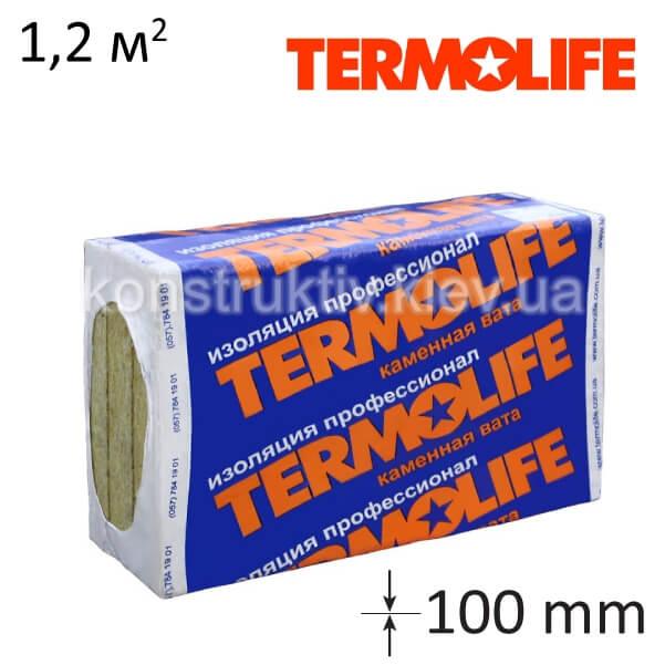 Минеральная вата Термолайф Фасад 135 (1000-600-100)-2шт./ 1,2 кв.м.